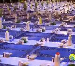 ضیافت افطار در آستان مقدّس حضرت عبدالعظیم (ع)